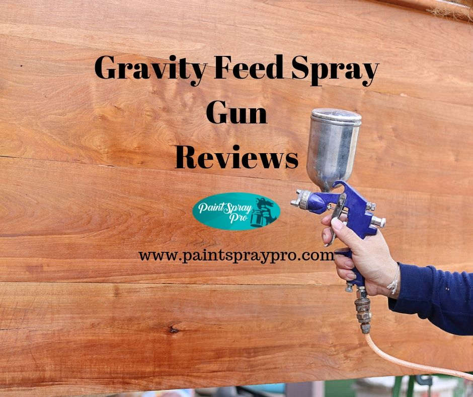gravity feed spray gun