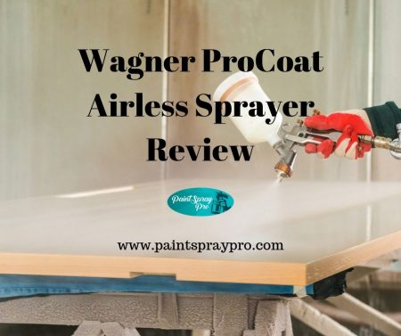 wagner procoat airless sprayer review