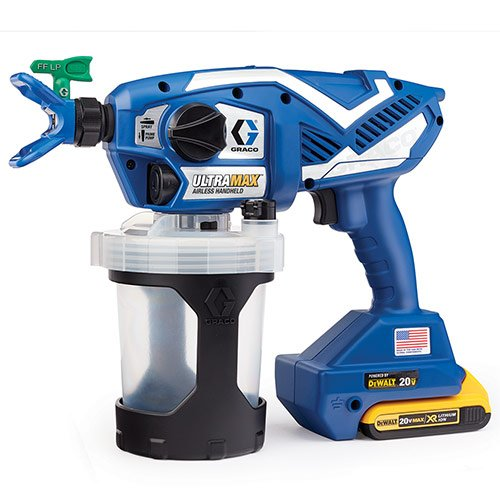 graco ultra max cordless airless handheld paint sprayer review