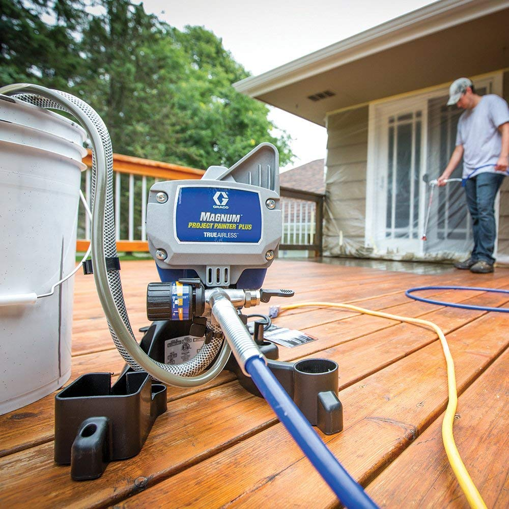 Graco Magnum Project Painter Plus Review - Affordable Pro DIY Results