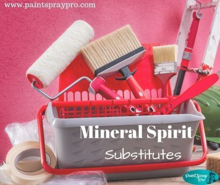 alternatives to mineral spirits