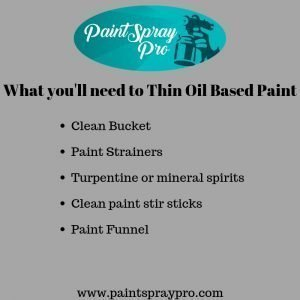How to Thin Oil Based Paint for a Spray Gun - 5 Easy Steps to Pro