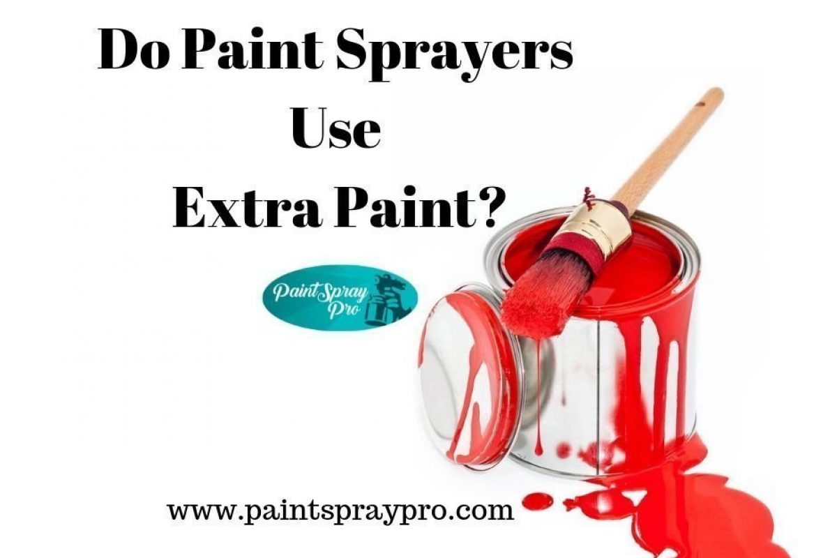 How Much Extra Paint Does a Spray Gun Use?
