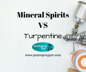 mineral spirits vs turpentine