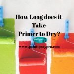 How Long Does it Take Primer to Dry?