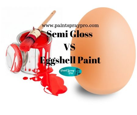semi gloss vs eggshell paint