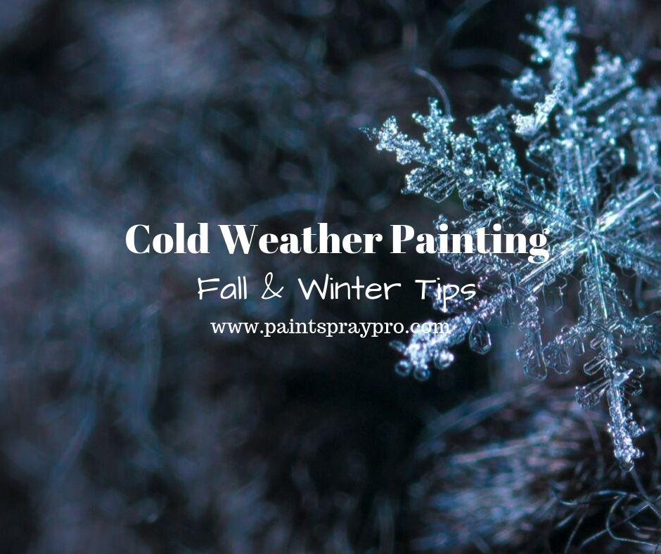 cold weather painting