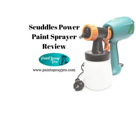 scuddles power paint sprayer