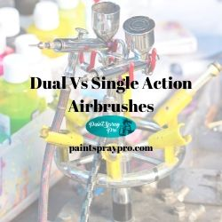 dual vs single action airbrushes